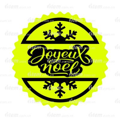 Sticker Noel phản quang cho bạn một mùa giáng sinh ấm áp, an lành