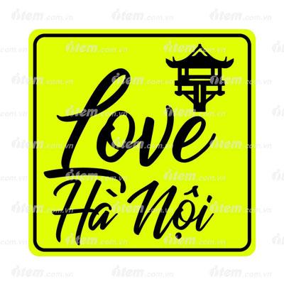 TEM PHẢN QUANG LOVE HÀ NỘI