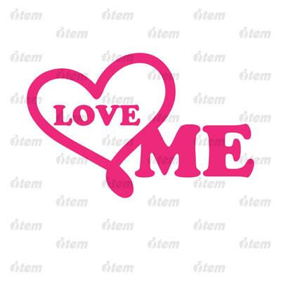 TEM PHẢN QUANG LOVE ME