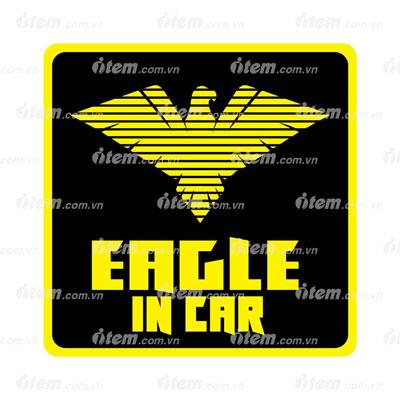 TEM PHẢN QUANG XE HƠI EAGLE IN CAR