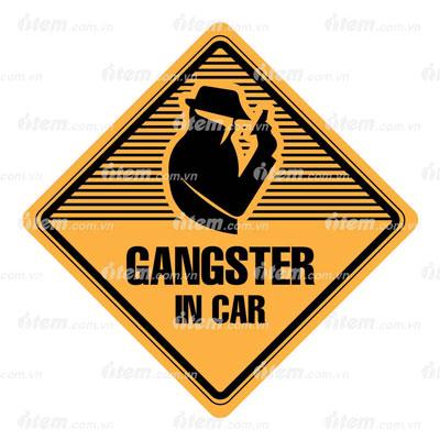 TEM PHẢN QUANG XE HƠI GANGSTER IN CAR