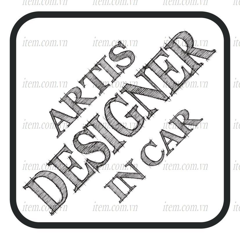 TEM PHẢN QUANG XE HƠI ARTIS DESIGNER IN CAR