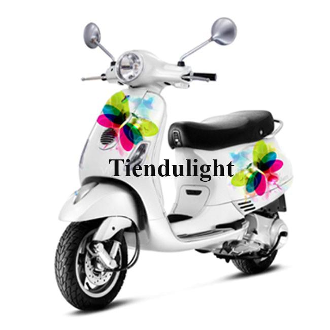 Tem phản quang trang trí xe máy