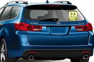Cập nhật mẫu tem phản quang xe ô tô hot nhất cho chiếc Honda CR-V 2017