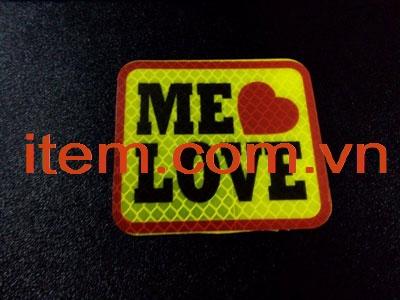 Tem phản quang tình yêu tô điểm cho cuộc sống