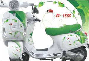 Tem phản quang điểm nhấn cho xe máy
