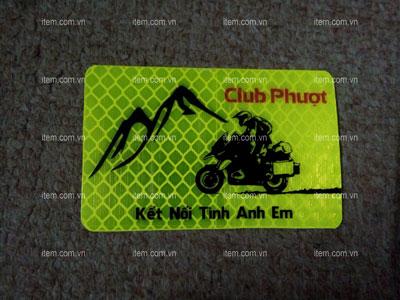 Những điều cần lưu ý khi in tem phản quang xe máy